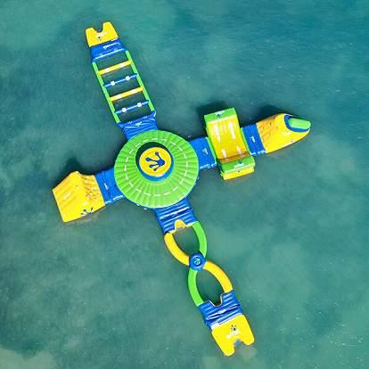 Floating Aqua Park