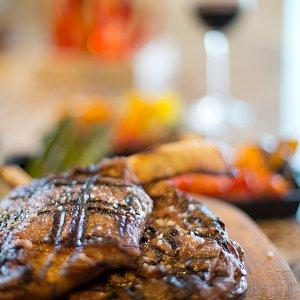 Finest meats dining Garza Blanca Preserve
