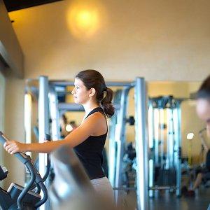 The Gym at Garza Blanca Resort