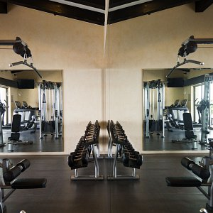 State-of-the-art equipment for gym