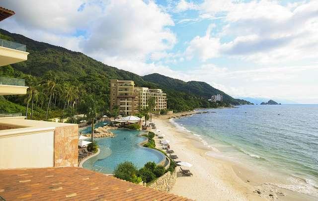 Ubicación del Hotel Garza Blanca Resort
