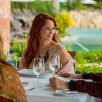 Debby Ryan have a Lunche