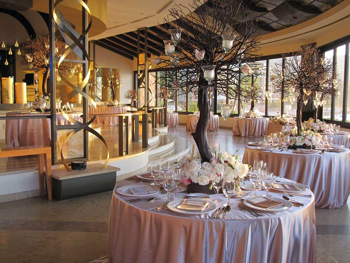 Gourmet Restaurant Venues at Garza Blanca Puerto Vallarta