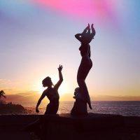 Triton y Sirena Statue at Malecon Puerto Vallarta