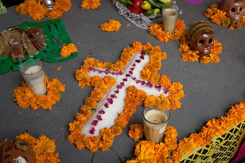 Altar de muertos mexicano y su significado