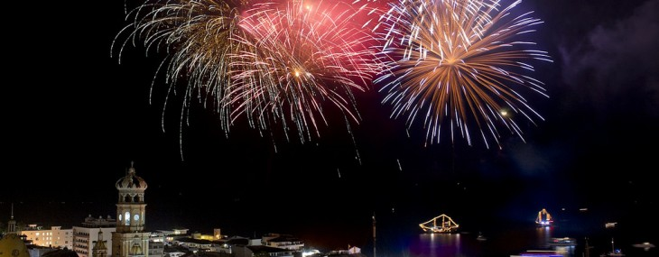 Fireworks in Puerto Vallarta – A Colorful Display of Talent