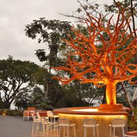 Orange Deck at Hotel Mousai Puerto Vallarta