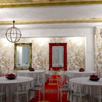Red Room at Hotel Mousai