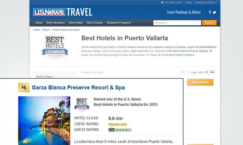 Garza Blanca Best Puerto Vallarta Hotels
