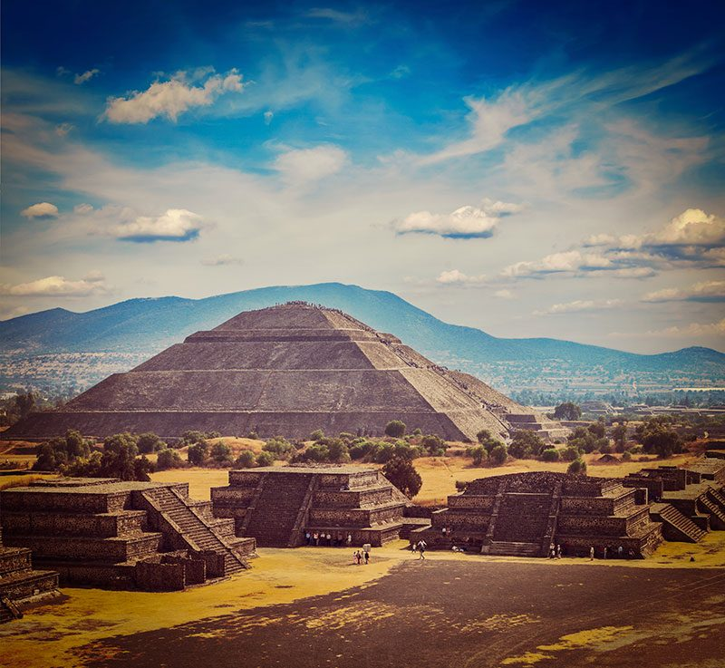 Pyramid of the Sun, Teotihuacan - Pyramids of Mexico