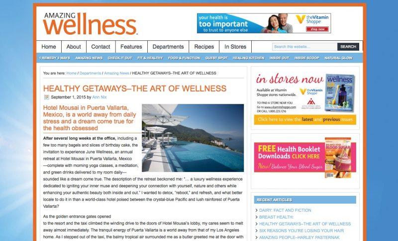 Amazing Wellness - Garza Blanca Resort and Spa at Puerto Vallarta