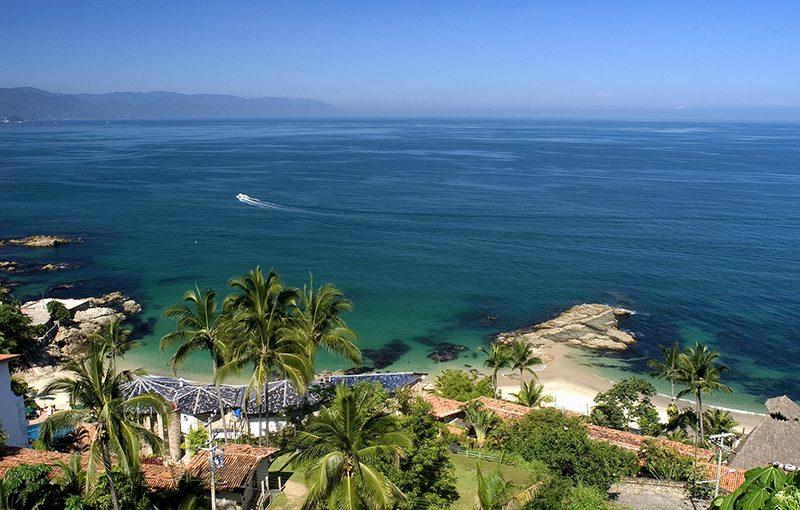 Playa Conchas Chinas Puerto Vallarta
