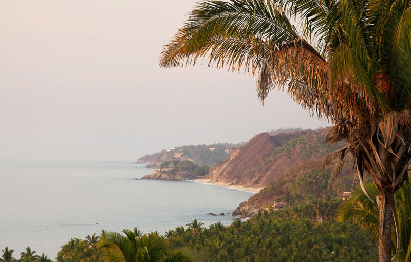 Sayulita Beach in Puerto Vallarta, Mexico