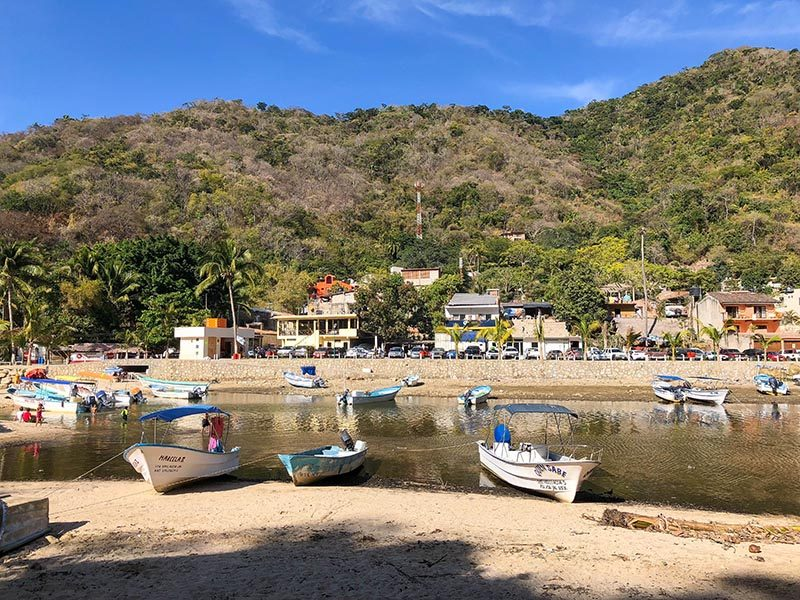 water taxi back to town The Best Beach for Adventure - Boca de Tomatlán until Playa Las Animas, Puerto Vallarta