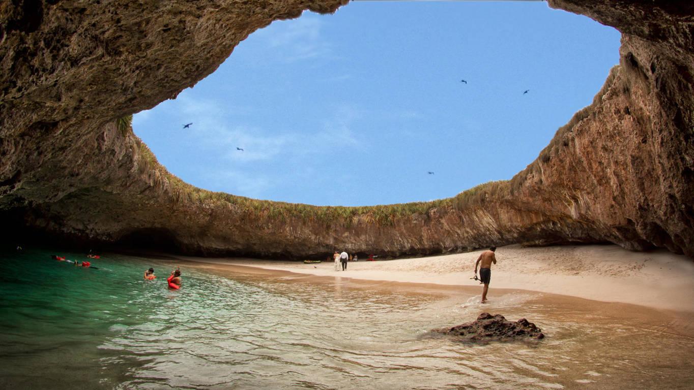 Las Marietas Islands And Its Hidden Beach Puerto Vallarta