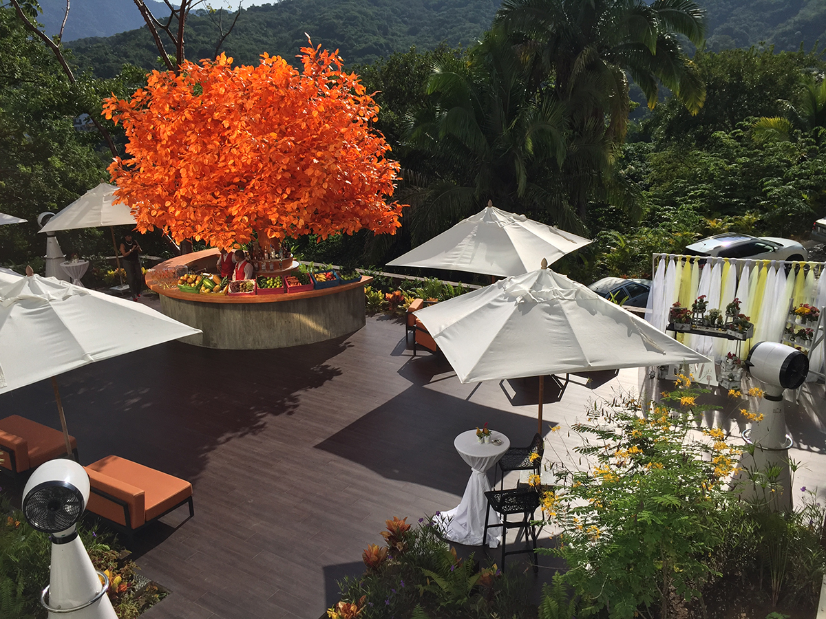 The Orange Deck for Events
