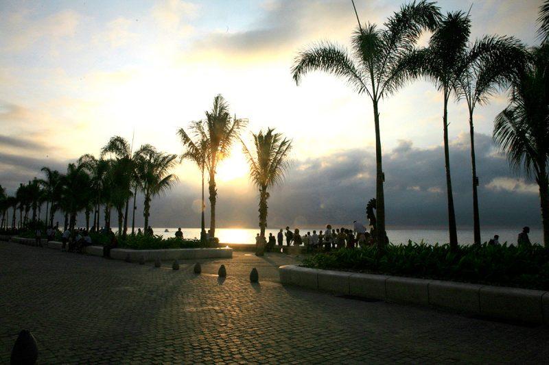 The Malecon of Puerto Vallarta