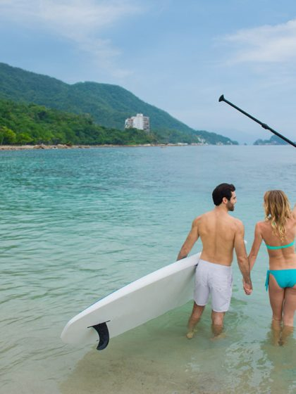 Get on a Paddleboard