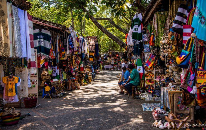 Puerto Vallarta Flea Market Rio Cuale Puerto Vallarta