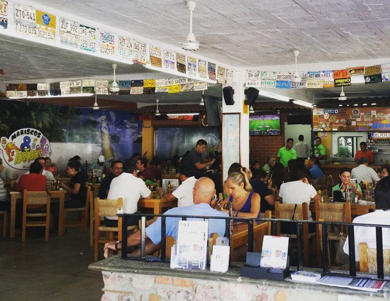 8 Tostadas Restaurant Seafood Puerto Vallarta