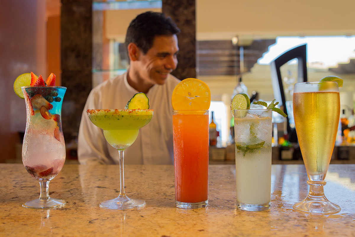 Refreshing Beverages for the Beach