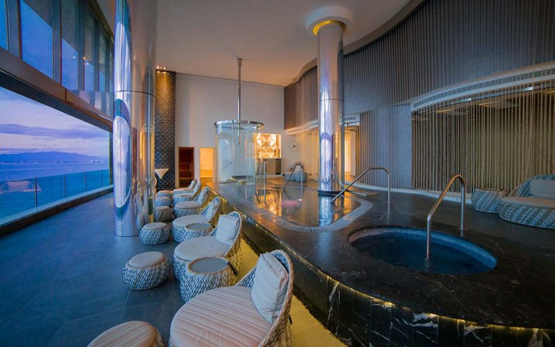 Relaxing in Spa Imagine's Stunning Wet Areas