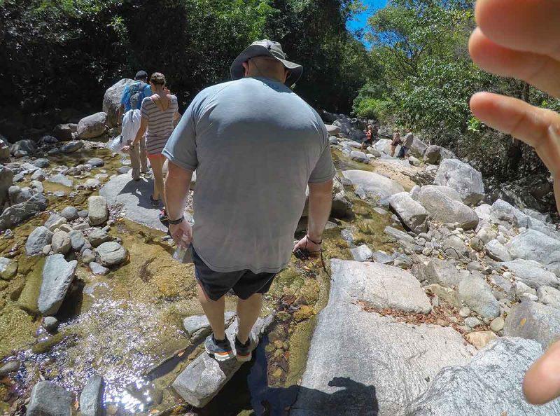 Hiking to river - Puerto Vallarta