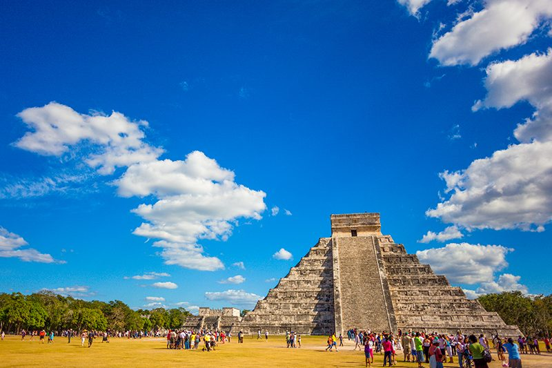 Celebrate the new year at Mayan ruins