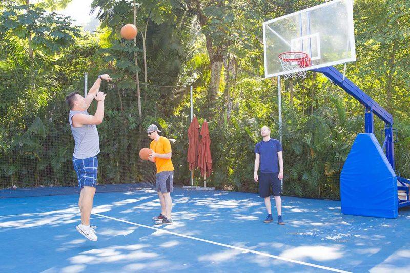 Basketball Court at Garza Blanca - Why play?