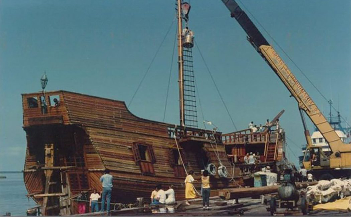 what is the history of the marigalante pirate ship