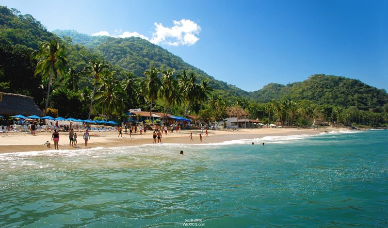 Beach Las Animas in Puerto Vallarta