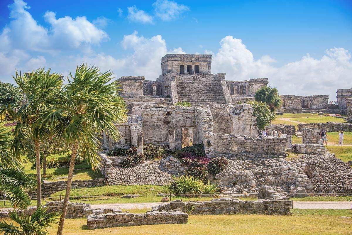 Mayan Ruins in the Riviera Maya
