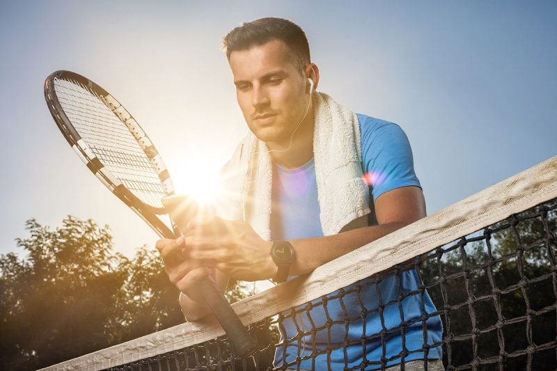 Tennis Keeps you Fit on Vacation
