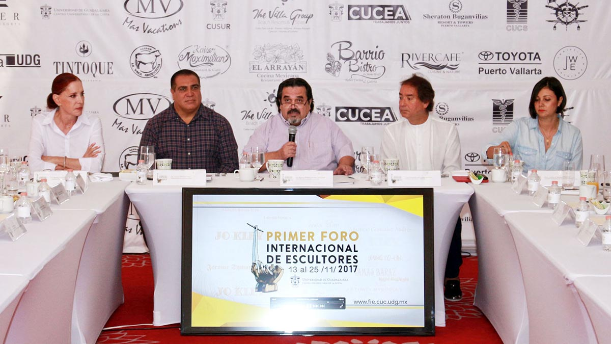 First International Sculptors Forum in Puerto Vallarta