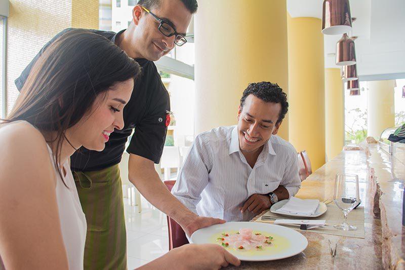 All-inclusive Meals at Garza Blanca