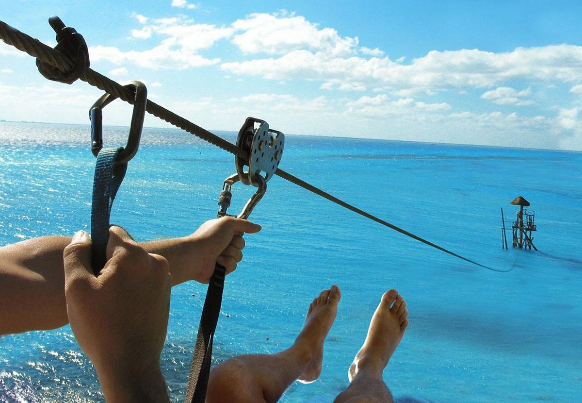 Garrafon Natural Reef Park on Isla Mujeres near Riviera Maya