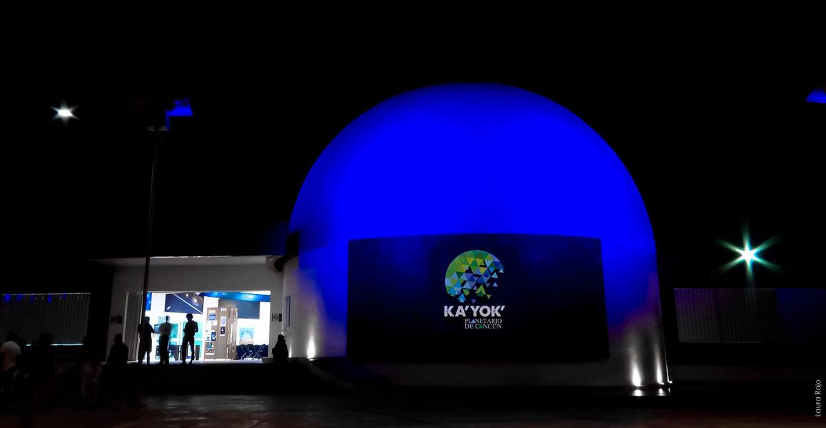 Ka Yok Planetarium in Riviera Maya