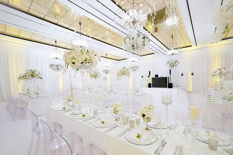 The Red Room for Weddings