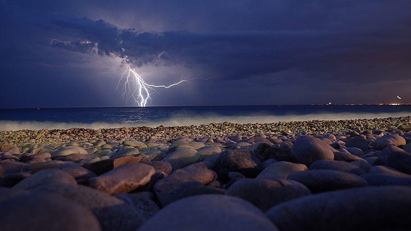 Amazing Electrical Storms in Puerto Vallarta