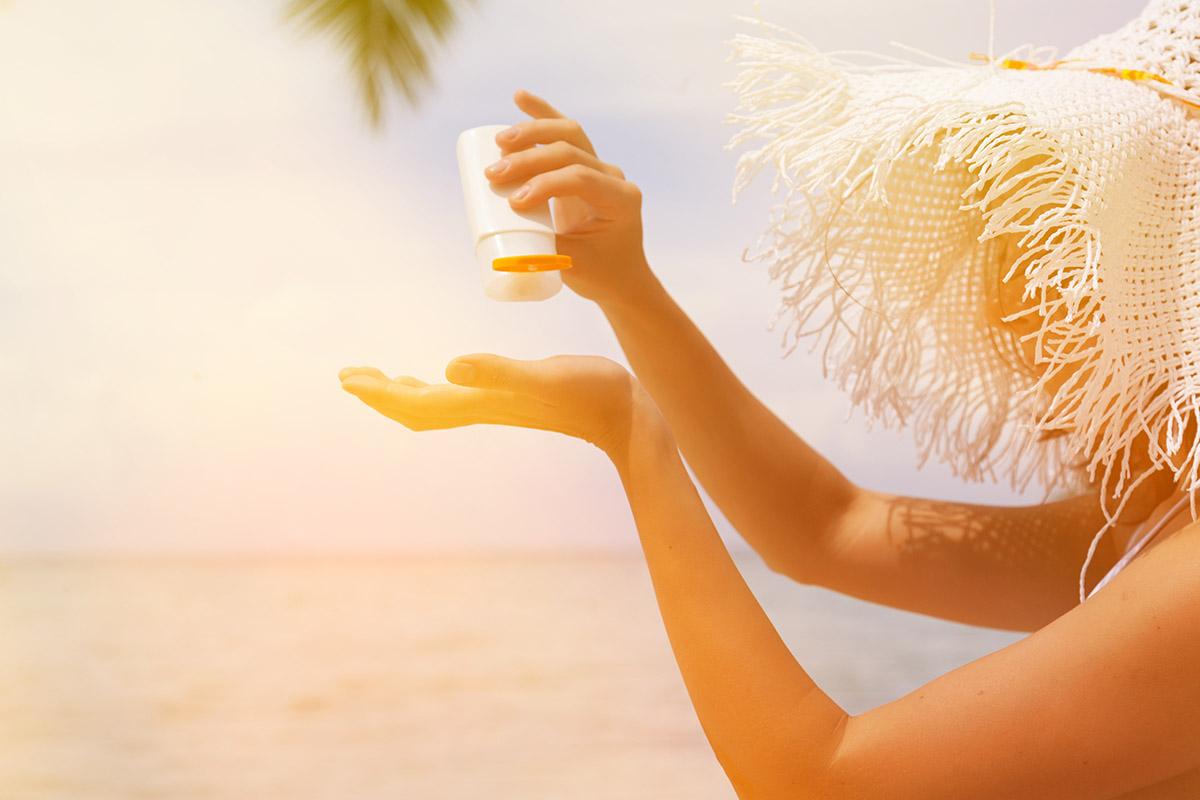 Benefits of Sunscreen on Beach