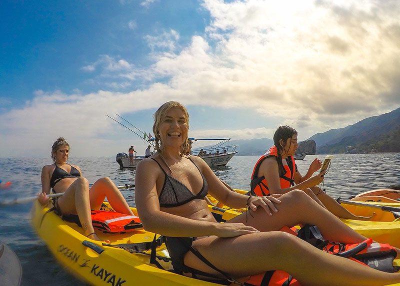 Tandem Kayaking the Communication is Key