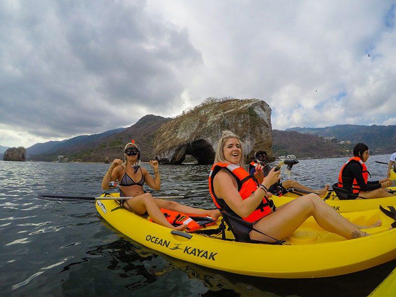 Tandem Kayaking Know-How in Puerto Vallarta