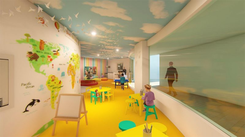 Brand New Kids' Club Opens in July 2018