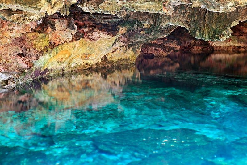 Cenote Tulum in Mexico
