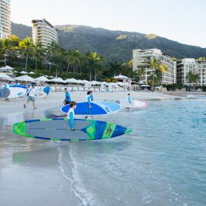 Stand Up Paddle Race in Puerto Vallarta