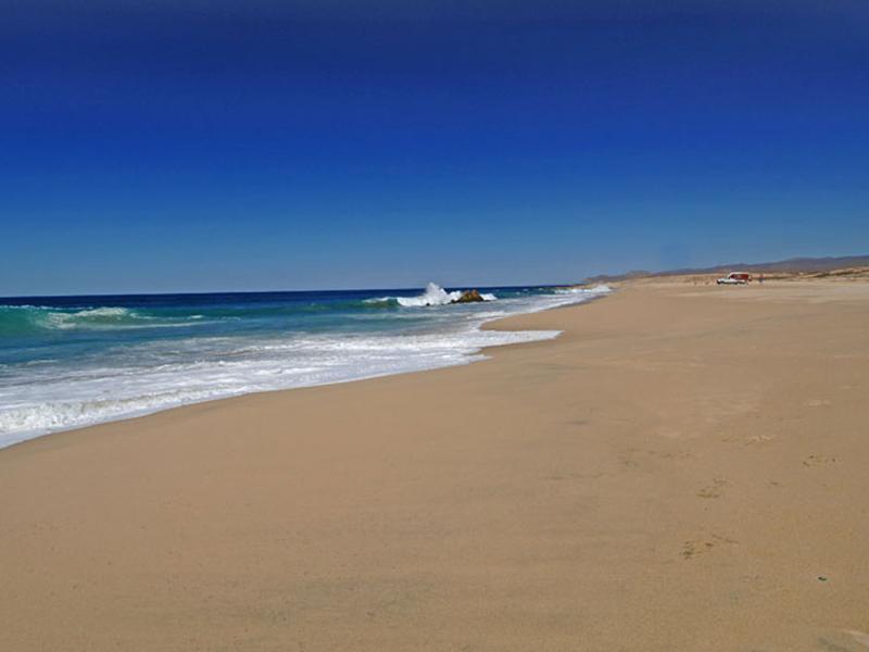 Mingriño Beach by ATV