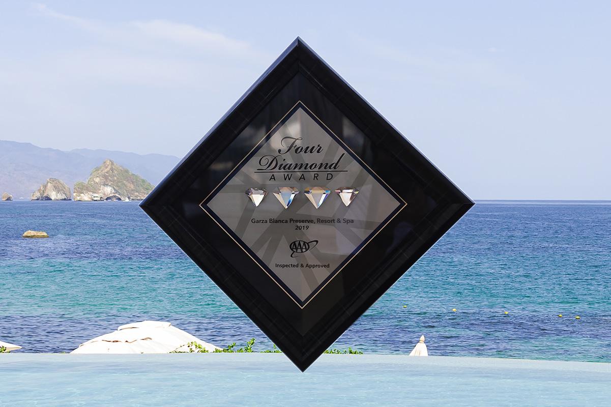 Garza Blanca Preserve Resort & Spa Receives Four Diamond Award in 2019