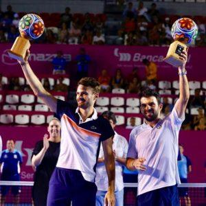 Romain Arneodo/Hugo Nys Winners Doubles Los Cabos Open 2019