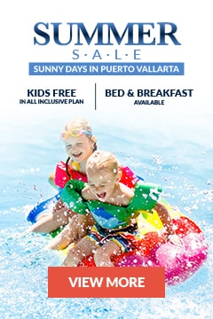 Summer vacations at Puerto Vallarta, Mexico