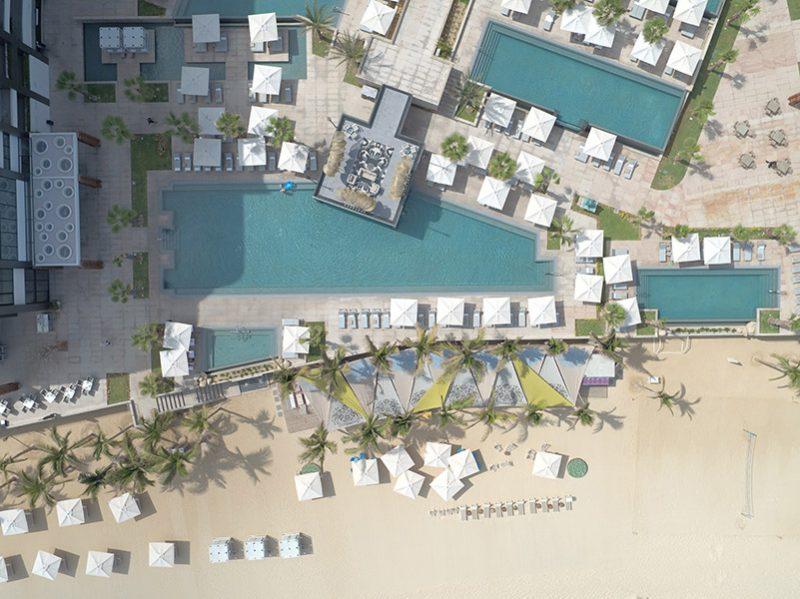 Infinity Pools at Garza Blanca Los Cabos Resort & Spa